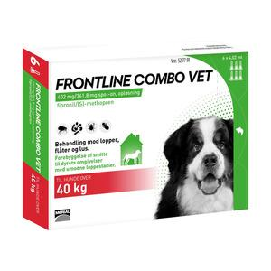 Frontline Combo over 40kg - 6 pipetter