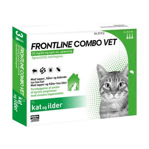 Frontline Combo, kat - 3 pipetter