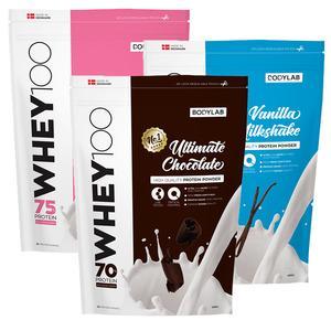 Bodylab whey proteinpulver fra Med24