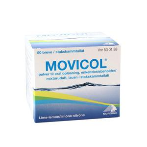 Movicol pulver - 50 breve