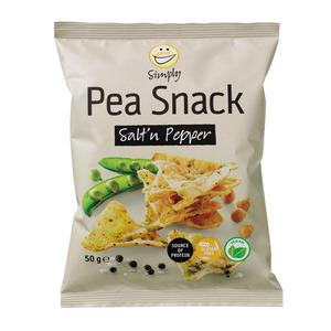 Easis Pea snacks salt & peber - 50 g