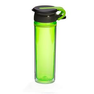 WOW Sports drikkedunk 600 ml - Lime/Sort