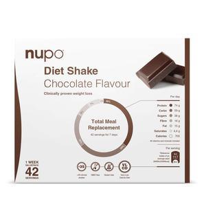 Nupo chocolate flavour kæmpekøb - 1344g