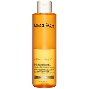 Decléor Bi-Phase Caring Cleanser and Makeup Remover - 200 ml. - Med24.dk