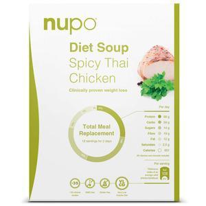 Nupo Spicy Thai Chicken suppe - 384g