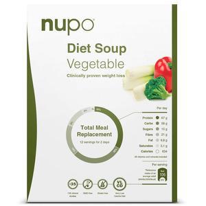 Nupo Diet Soup Vegetable - 384 g