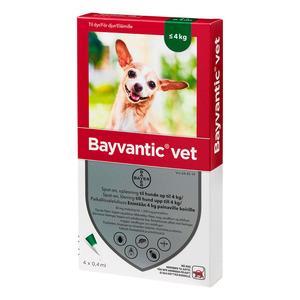 Bayvantic Vet. til hunde - 0-4 kg
