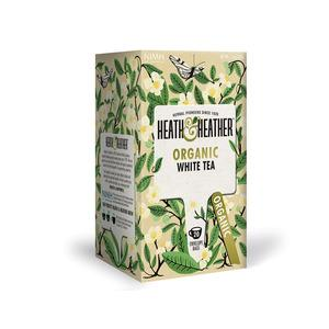 Heath & Heather Organic White Tea Ø - 20 breve