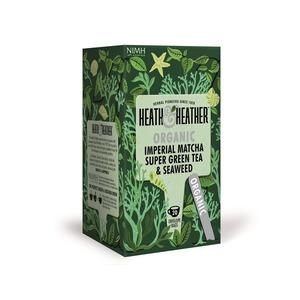 Heath & Heather Organic Imperial Matcha Green Tea Ø - 20 breve