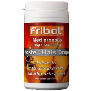 Fribol Hoste/hals Drops M. Propolis 60G