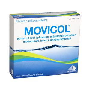 Movicol pulver - 8 breve