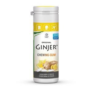 Lime Pharma GINJER® Ingefær CITRON Tyggegummi