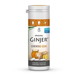 Lime Pharma GINJER® Ingefær HONNING Tyggegummi