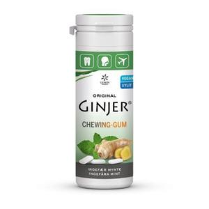 Lemon Pharma GINJER Ingefær Mynte Tyggegummi