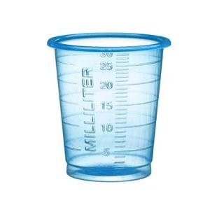 Medicinmålebæger 30 ml - 80 stk.