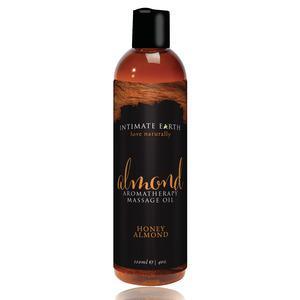 Intimate Earth - massageolie, honning/mandel 120 ml