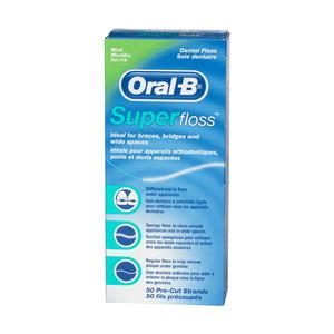 Oral-B Superfloss Mint - 50 stk.