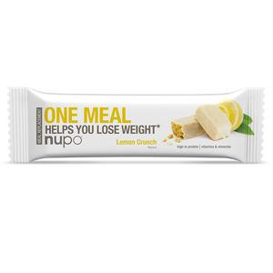 Nupo one meal - Lemon Crunch - 60 g meal replacement slanke bar