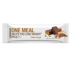 Nupo one meal - Toffee Crunch - 60 g slanke bar meal replacement