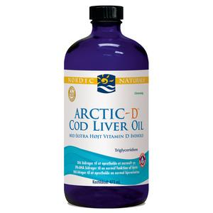 Nordic Naturals Torskelevertr.+D m.citrus Cod liver oil - 473 ml