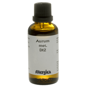 Allergica Aurum met. D12 - 50 ml