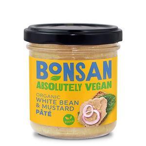 Bonsan Paté Hvid Bønne/Sennep Ø