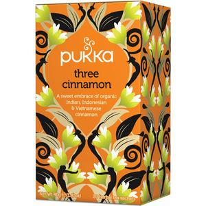 Pukka Three Cinnamon te Ø - 20 breve