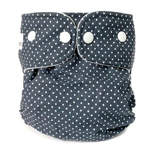 WeeCare Easy Cover genanvendelig ble - Dots/Midnight Blue