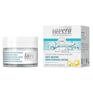 Lavera Basis Sensitiv Anti-Age Moisturising Cream Q10 - 50 ml