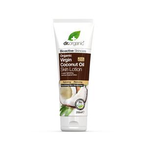 Dr. Organic Coconut Oil Skin Lotion - 200 ml.