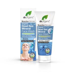 Dr. Organic Dead Sea Mineral Face Wash - 200 ml