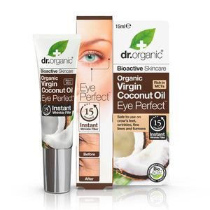 Dr. Organic Coconut Oil Eye Perfect - 15 ml