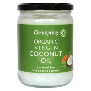Billede af Clearspring Organic Virgin Coconut Oil kokosolie Ø - 400 gram