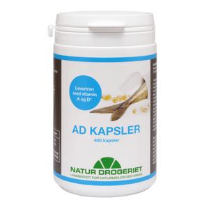 Natur-Drogeriet AD Kapsler - 400 stk.
