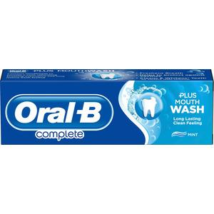 Oral-B Complete Mouthwash + Whitening tandpasta - 75 ml