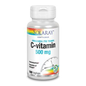 Solaray C-vitamin 500 mg - 100 kap