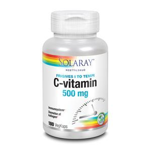 Solaray C-vitamin 500 mg - 180 kap