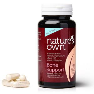 Nature's Own Bone Support - 60 kapsler
