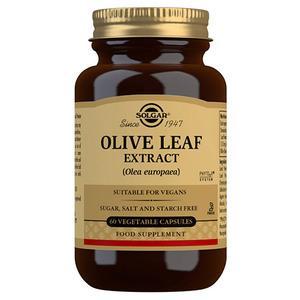 Solgar Olivenblad (Olive Leaf Extract) - 60 kap