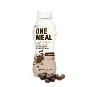 Nupo One Meal +Prime Shake Caffe Latte Happiness - 1 stk.