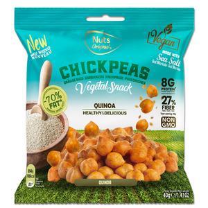 Nuts Original Crunchy Chickpeas Quinoa - 40 g