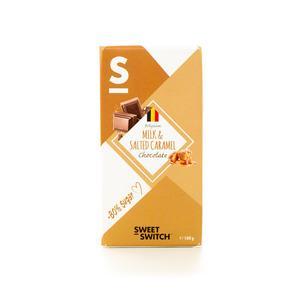 Sweet Switch Mælkechokolade Med Karamel Sukkerreduceret