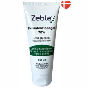 Zebla håndsprit gel 70% - 100 ml.