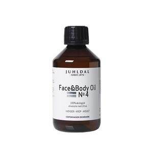 Juhldal Face & Body Oil No 4 - 250 ml.