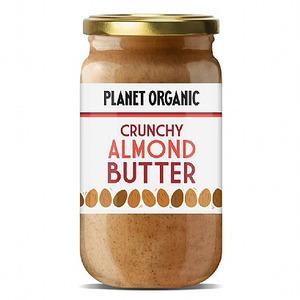 Planet Organic Mandelsmør Crunchy Ø