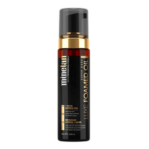 Minetan Luxe Foamed Oil Super Dark - 200 ml.
