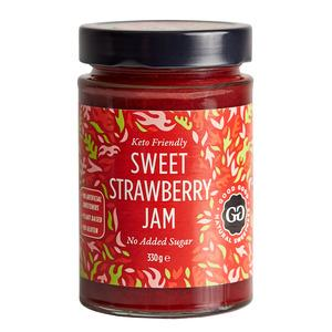 Good Good Sweet Jam with Stevia - Strawberry - 330 gram