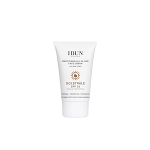 Idun Smoothing All-In-One Face Cream SPF 25 - 30 ml.