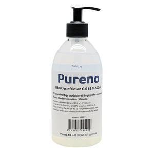 Pureno Håndsprit gel 85% - 500 ml