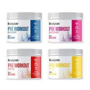 Billede af Bodylab PreWorkout Flere Smagsvarianter - 200 g